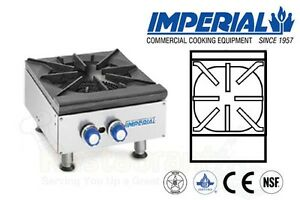 Imperial Hot Plates Open Burners Cast Iron Grates Propane Model Ihpa 1 12