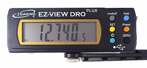 Igaging 6 150 Mm Digital Readout Read Out Dro W Remote Magnetic Lcd Display