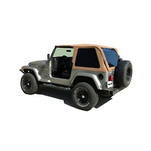 Rampage 109517 Frameless Trail Soft Top Spice For 1997 2006 Jeep Wrangler Tj