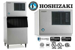 Hoshizaki Commercial Ice Machine Crescent Water cooled Condenser Kml 631mwh
