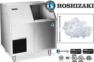 Hoshizaki Commercial Ice Machine Flaker Self contained Storage Model F 500baf