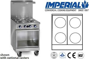 Imperial Commercial Restaurant Range 24 With Base Electric Model Ir 4 e xb
