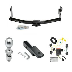 Class 2 Trailer Hitch Receiver Tow Kit W Wiring 1 7 8 Ball For 08 11 Tribute
