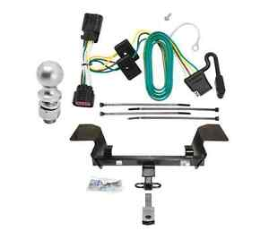 Class 2 Trailer Hitch Receiver Tow Kit W Wiring 2 Ball For Chevrolet Impala