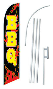 Bbq Windless Swooper Flag Kit