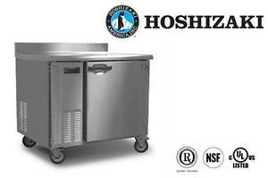 Hoshizaki Commercial Refrigerator Worktop Stainless Steel 1 section Model Hwr40a