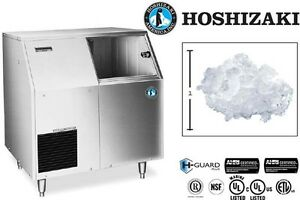 Hoshizaki Commercial Ice Machine Flaker Ice Type W Built in Bin Model F 300baf