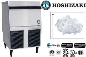 Hoshizaki Commercial Ice Machine Self contain Flaker W Bin Model F 330bah