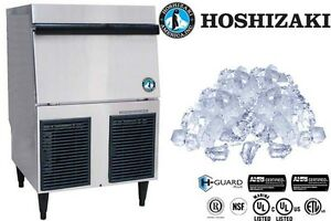 Hoshizaki Commercial Ice Machine Self contained W Storage Bin Model F 330bah c