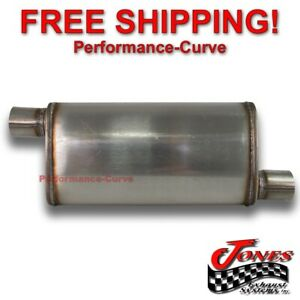 2 5 O o Performance 18 Muffler Max Flow Stainless Steel 4x9 Mf1266