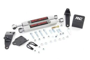 Dual Steering Stabilizer Kit 2003 2013 Dodge Ram 2500 2003 2012 Ram 3500 4x4