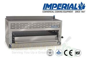 Imperial Commercial Salamander Broiler Burner 36 Wide Propane Model Isb 36