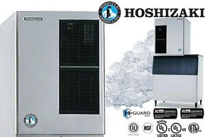 Hoshizaki Commercial Ice Machine Flaker Modular 30 Wide Water cool F 1500mwh