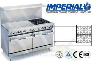 Imperial Commercial Restaurant Range 60 W 36 Griddle Nat Gas Ir 4 g36
