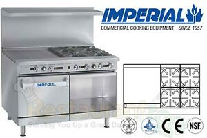Imperial Commercial Restaurant Range 48 W 24 Griddle Propane Ir 4 g24 xb