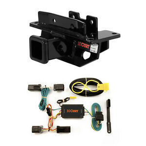 Curt Class 3 Trailer Hitch Custom Wiring Harness For Dodge Durango aspen