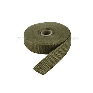 Pro Exhaust Wrap Pipe Header Thermo Tape 25 Ft Roll Turbo Heat Shield Insulation