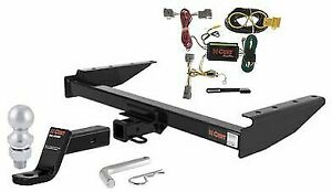 Curt Class 3 Trailer Hitch Tow Package For 94 98 Jeep Grand Cherokee