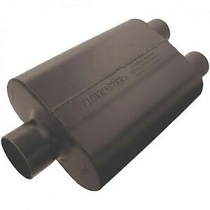 Flowmaster 9430452 Universal 44 Series Muffler 3 Center In 2 5 Dual Out