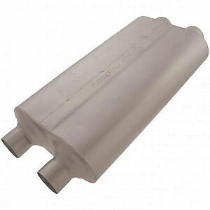 Flowmaster 530504 Universal Muffler 50 Bb Series 3 Dual In 2 5 Dual Out