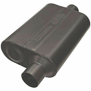 Flowmaster 942546 Universal Super 44 Series Muffler 2 5 Offset In center Out