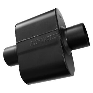 Flowmaster 842515 Universal Race Super 10 Muffler 2 5 Center In 2 5 Center Out