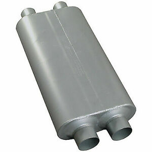 Flowmaster 527504 Universal Muffler 50 Bb Series 2 75 Dual In 2 5 Dual Out