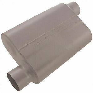 Flowmaster 43043 Universal 40 Series Muffler 3 Offset In out Aggressive Sound