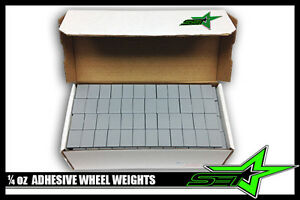 2 Boxes Of 1 4 Oz Wheel Weights Perfect Brand 1152 Pc Stick On Adhesive 288 Oz