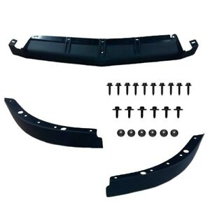 C4 Corvette Front Spoiler Kit New 91 Thru 96 Complete With Mounting Hardware