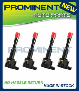 4 Ignition Coils Replacement For 2003 2011 Honda Civic Hybrid 1 3l Uf374 5c1405