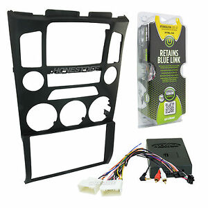 95 7352b Car Stereo Double Din Radio Install Dash Kit Amp Turn On For Genesis