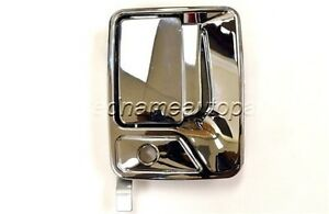 For Ford F Pickup Outside Exterior Door Handle Passenger Front Right Chrome Abs