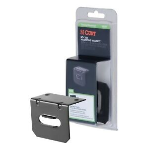 Curt 58301 Trailer Wire Connector Mounting Bracket For 4 Way Flat