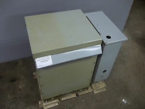 Ge General Electric Specialty Transformer 15 Kva 3 Phase