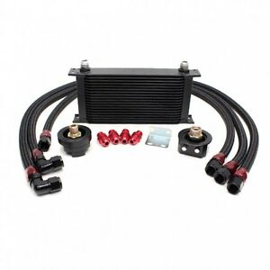 Rev9 19 Row Oil Cooler Relocation Kit Turbo Na 2jz Jza80 Supra 7mgte Celica Mr2