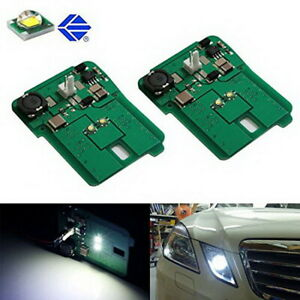 Hid Matching White Led Parking Position Light For 10 13 Mercedes E Class Pre Lci
