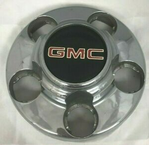 1988 1999 Gmc Van 1500 Pick up Truck Wheel Hub Center Cap Chrome Set
