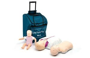 New Cpr aed Laerdal Little Manikins Family Pack Light Skin 020080