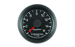 Auto Meter 8444 Factory Match Ford 2 1 16 Electric Pyrometer Egt Gauge 0 1600 F