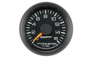 Auto Meter 8344 Factory Match Chevy 2 1 16 Electric Pyrometer Gauge 0 1600 F