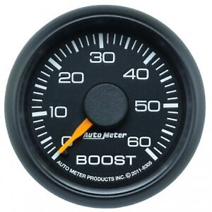 Auto Meter 8305 Factory Match Chevy 2 1 16 Mechanical Boost Gauge 0 60 Psi