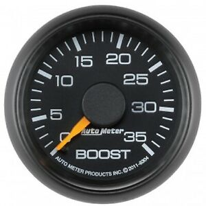 Auto Meter 8304 Factory Match Chevy 2 1 16 Mechanical Boost Gauge 0 35 Psi