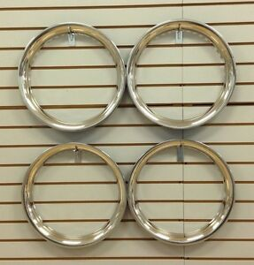 15 New Stainless Steel Beauty Rings Trim Ring Set Of 4