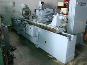 Norton 18 X 72 Model U4 Universal Cylindrical Grinder With Id Attachment