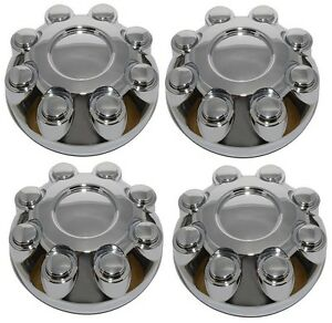 2005 2009 Dodge 1500 2500 3500 Truck Center Cap Set Of 4 Chrome Am New
