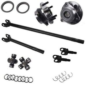 2003 2006 Jeep Tj Wrangler Rubicon Dana 44 30 30 Alloy Axle Kit 12265