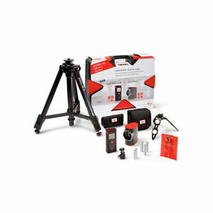 Leica Geosystems 806656 Disto D210 Laser Distance Meter Kit With Leica Lino L2