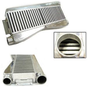 Rev9 Universal Twin Turbo Intercooler Fmic 28x12x3 2 Inlet 1 Outlet 800hp
