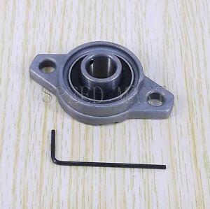 10mm Mounted Cast Housing Pillow Block Bearing Flange Block Bearing